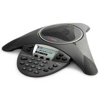 SoundStation IP6000 (SIP) conference phone. 802.3af Power over Ethernet. Expandable