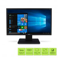 Monitor ACER 19,5'' LED V206HQLHDMI TN HDMI VGA.