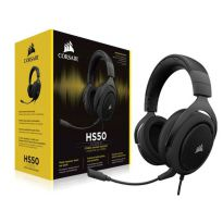 Corsair Headset Gamer Ca-9011170-Na Hs50 Stereo Carbon