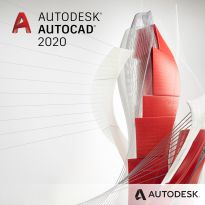 Autodesk Corp. AutoCAD LT 2020 Commercial New Single User Annual Subscription
