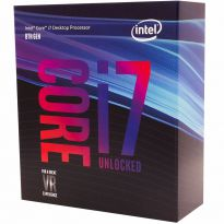 Processador Intel Core I7-8700k Coffee Lake 3.70 GHZ 12mb - sem Cooler