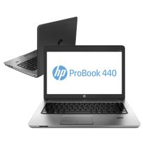 HP Notebook ProBook 440G5 Intel Core i7 8550U Quad Core 1.8GHz, Tela 14pol., 8GB RAM, 500GB HD, Wi-Fi, BT 4.0, Win10 Pro