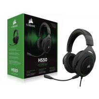 Corsair Headset Gamer Ca-9011171-Na Hs50 Stereo Green