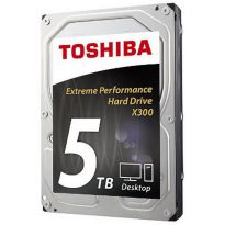 HD Interno Toshiba X300 5TB SATA 6.0Gb/s 7200RPM 128MB 3.5in