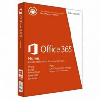 Microsoft Office 365 Home 1 Yr 5 Pc Or Mac