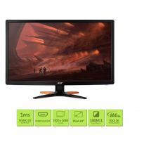 Monitor ACER 24''LED FHD GN246HL 3D WIDE VGA DVI HDMI