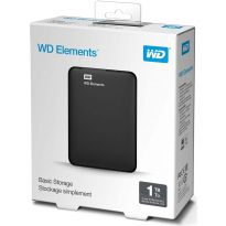 HD Externo Western Digital Elements 1TB USB 3.0 Preto