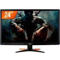 Monitor Acer Gn246hl 24 Gamer Fhd Vga Dvi Hdmi Inclinavel 1ano