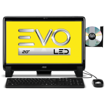 Desktop All-in-One AOC EVO 20525U-W8SL
