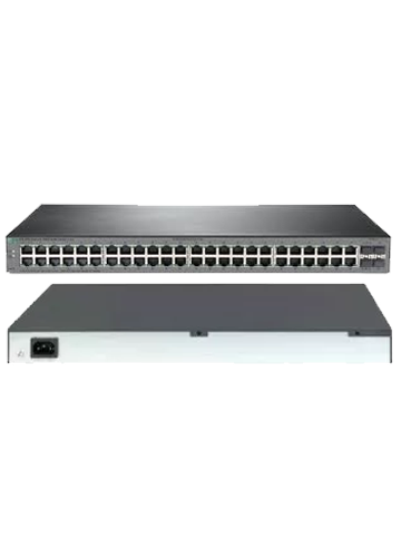 HPE Switch 1920S-48G-4SFP com 48x 10/100/1000Mbps RJ45 + 4x SFP 1G (substituto do JG927A)